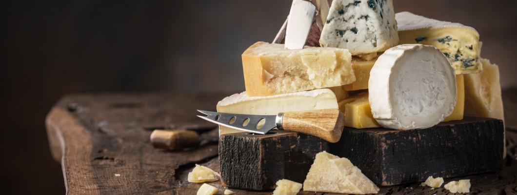 Egy tucat ízletes sajt